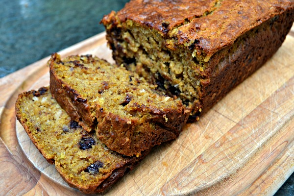 Coconut Pumpkin Chocolate Chip Banana Bread - Peanut Butter Runner