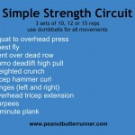 Simple Dumbbell Strength Circuit