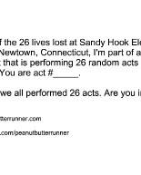 26 Random Acts: Team Assignments