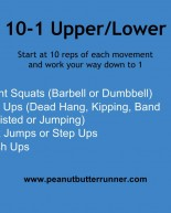 10-1 Upper & Lower Body Workout