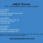 7 Minute AMRAPs Workout