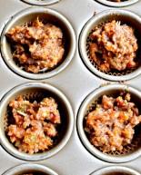 Gluten-Free, Refined Sugar-Free Mini Carrot Cake Cupcakes
