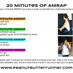 20 Minutes of 5 Minute AMRAPs {Workout Post}