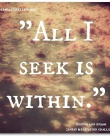All I Seek Is Within