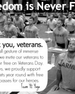 Happy Veterans Day + Weekend Part Two