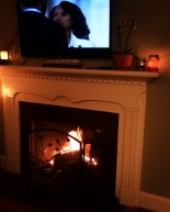 Fireplace Coziness, Scandal & Recent Eats
