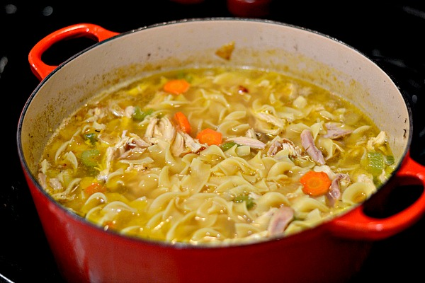 homemade chicken noodle soup recipe peanut butter runner