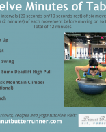 12 Minute Tabata Workout