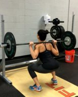 Fired Up Squat + Upper Body Workout