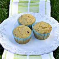 Olive Oil & Greek Yogurt Lemon Chia Seed Muffins