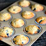 Blueberry Banana Muffins {Recipe}