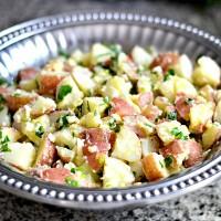 Lemon Feta Potato Salad {Recipe}