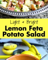 Lemon Feta Potato Salad {Recipe}