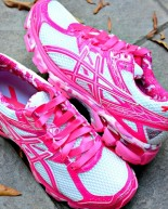 My New Pink ASICS + Weekly Workouts