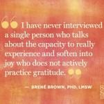 Cultivating A Gratitude Practice