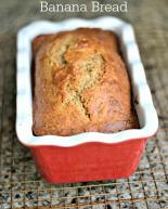Healthy-ish Peanut Butter & Coconut Banana Bread