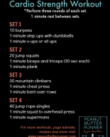 Cardio Strength Workout