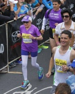 A 92-year-old woman ran a marathon today…we gotta keep moving!