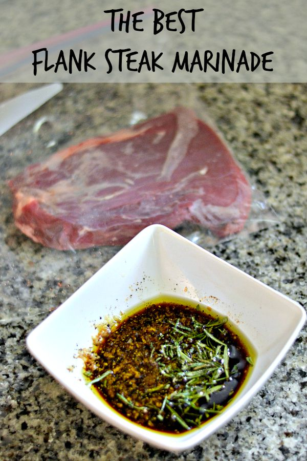 The Best Simple Flank Steak Marinade
