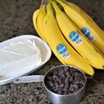 Pumpkin Banana Bread with Chocolate Chips and Cream Cheese Swirl