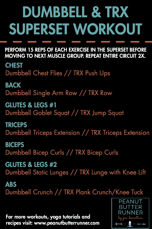 Free Pdf Full Body Dumbbell Workout For S And Guys Http