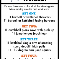 Super Bowl Super Set Workout + Weekly Workouts