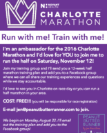 Train for a Half Marathon with Me: Fall Online Training Group!