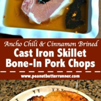 Ancho Chile & Cinnamon Brined Bone-In Pork Chops