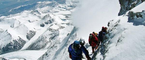 I'll Never Climb Mount Everest + Last Week's Workouts + This Week's Dinner Menu