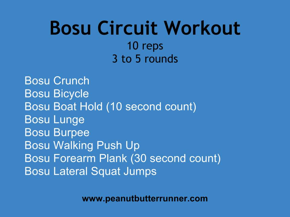 Bosu Ball Circuit Workout {With Video Demonstration ...