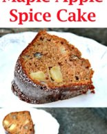 Maple Apple Spice Cake
