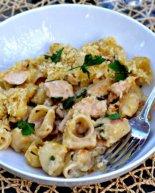 Chicken Marsala Macaroni and Cheese {Recipe & Contest}