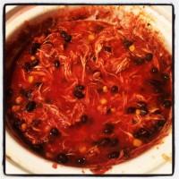Crockpot Chicken Tortilla Soup {Recipe}