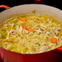 Homemade Chicken Noodle Soup {Recipe}