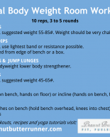 Total Body Weight Room Workout
