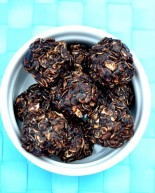 Chocolate Peanut Butter No-Bake Cookies {Recipe}