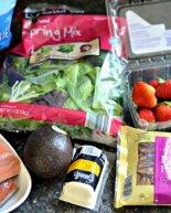 Salmon, Strawberry & Goat Cheese Salad {Recipe}
