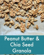 Peanut Butter Chia Seed Granola