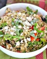 Mediterranean Lentil & Couscous Salad