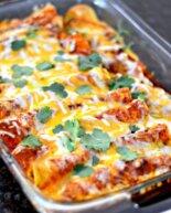 The Best Homemade Chicken Enchiladas