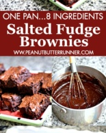 Salted Fudge Brownies (The Best Brownie Recipe Ever!)