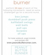 Pre-Turkey & Pie Burner Workout + Weekly Workout Recap