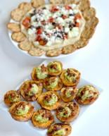 Healthier Super Bowl Snack Ideas: Sweet Potato Nachos and Loaded Hummus Plate
