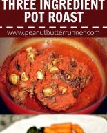 Three Ingredient Pot Roast {Recipe}