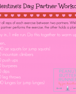 Valentine's Day Workout + Recipe Inspiration