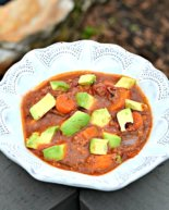 Slow Cooker Sweet Potato Chili (Beanless, Whole30 & Paleo)