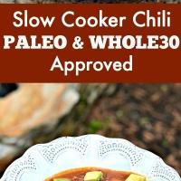 Slow Cooker Sweet Potato Chili (Beanless, Whole30 & Paleo)