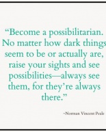 On Being a Possibilitarian