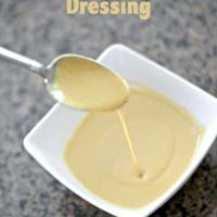 Homemade Tahini Turmeric Dressing