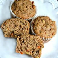 Spiced Zucchini, Carrot and Banana Bread (Or Muffins!)